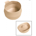 Rootsi kokkupandav kummikruus FOLD-a-CUP® 600 ml, beež