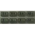 HELIKON A/RH- veregrupi tunnussilt PVC (2tk), Olive