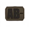 3D veregrupi AB- tunnussilt , olive